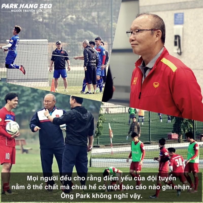 Chính ông Park đã truyền niềm tin cho các cầu thủ. Phải chăng họ đã bảo thủ quá lâu? Phải chăng họ đã chưa bao giờ nghĩ mình có thể đi xa đến thế?