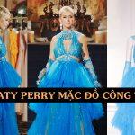 Diện đồ Công Trí thường xuyên, lần đầu tiên Katy Perry mang hẳn bộ đầm lộng lẫy của NTK Việt quay MV mới