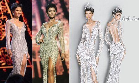 Tiết lộ thú vị về bộ đầm ''cực phẩm'' giúp H'Hen Niê làm nên lịch sử, lọt top 5 Miss Universe 2018