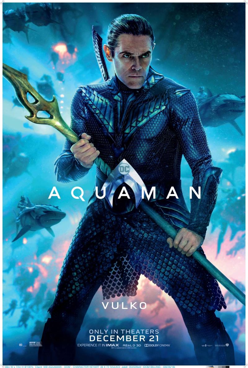 """""""Aquaman"""" còn có sự góp mặt của nam diễn viên từng nhận đề cử Oscar Willem Dafoe trong vai Vulko – cố vấn Hoàng gia tại thuỷ cung."""