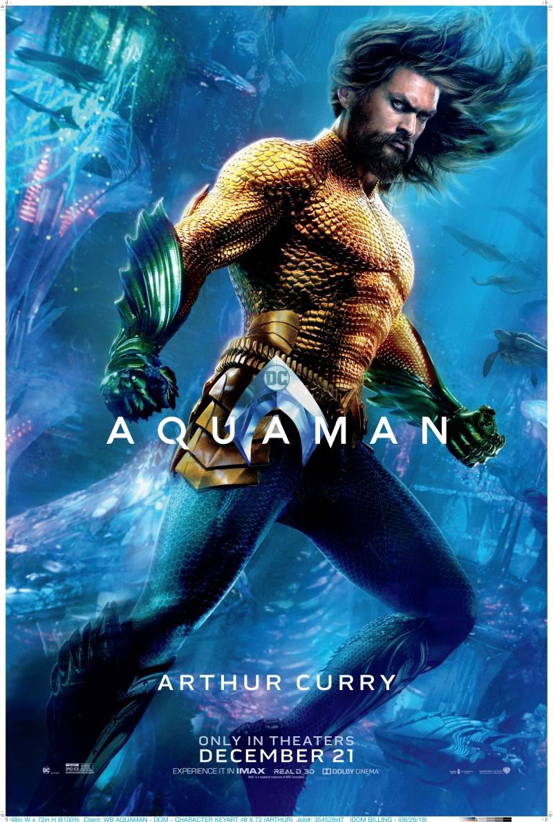 """Chính màn chào sân ấn tượng của Momoa trong nhóm Liên Minh Công Lý ở thế giới siêu anh hùng DC đã giúp anh tiếp tục được tin tưởng giao trọng trách đảm nhiệm vai diễn Aquaman trong bộ phim riêng về """"Vị vua của bảy biển"""" năm 2018."""