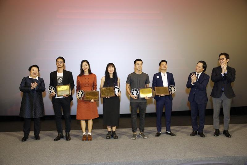 """Các đạo diễn xuất sắc nhất của """"Dự án phim ngắn CJ"""" tại Việt Nam."""