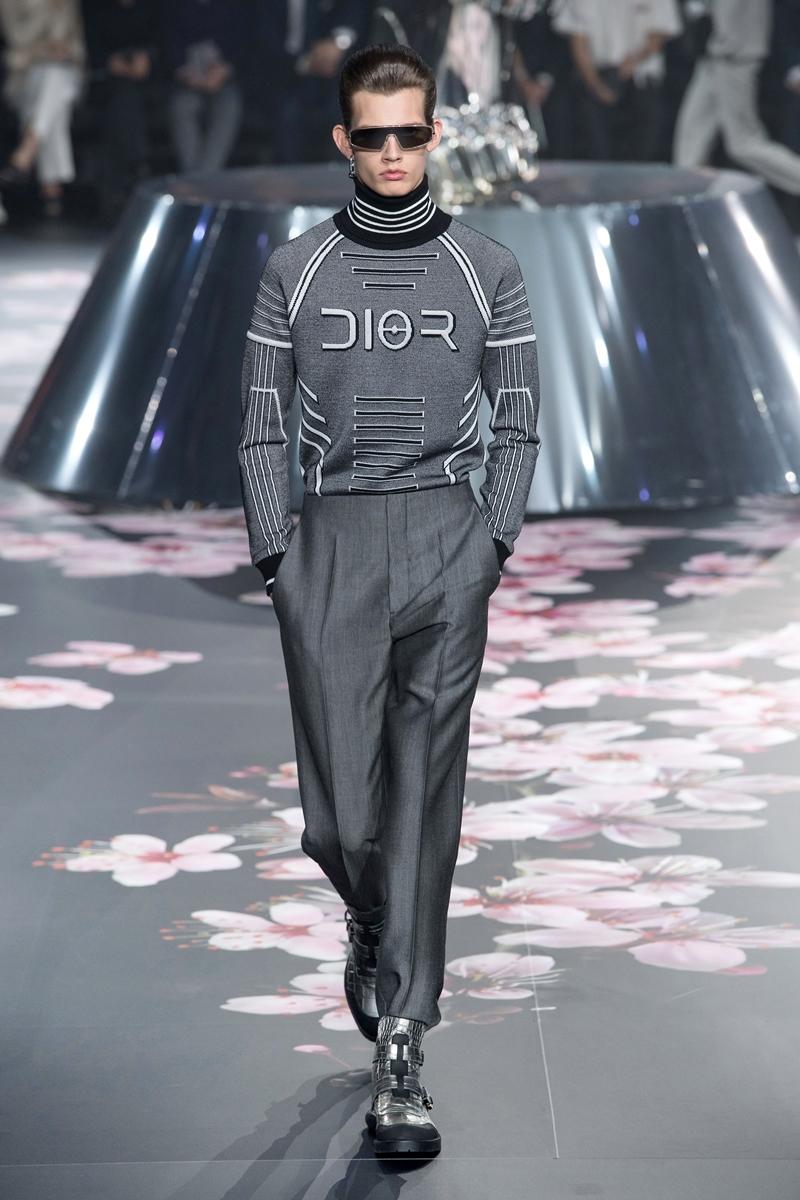 Thiết kế nguyên bản trong show Chớm Thu 2019 của Dior Homme.