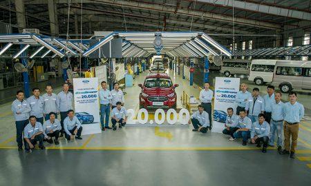 Ford xuất xưởng chiếc EcoSport thứ 20.000 tại Việt Nam