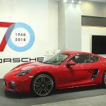 Không gian trưng bày đặc biệt của Porscheở Sài Gòn