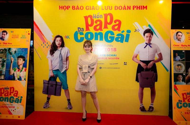 Nữ diễn viên Kaithy Nguyễn