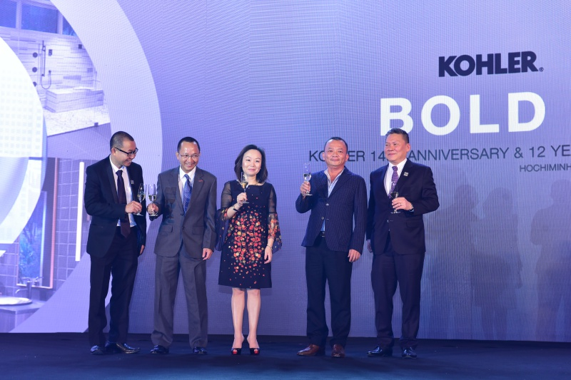 Kohler kỷ niệm 145 năm thành lập và 12 năm hợp tác cùng Công ty RitaVõ tại Việt Nam