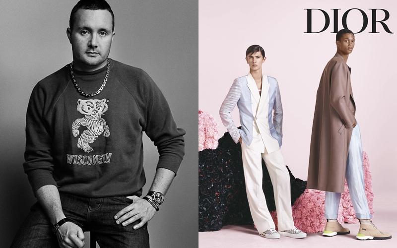 NTK Kim Jones và hình ảnh quảng bá cho BST đánh dấu sự kết hợp của anh và Dior Homme.
