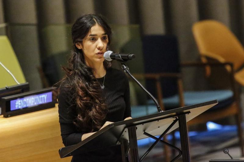 Nadia đã trở thành cô gái trẻ thứ hai sau Malala Yousafzai, nhận giải khi mới 17 tuổi.