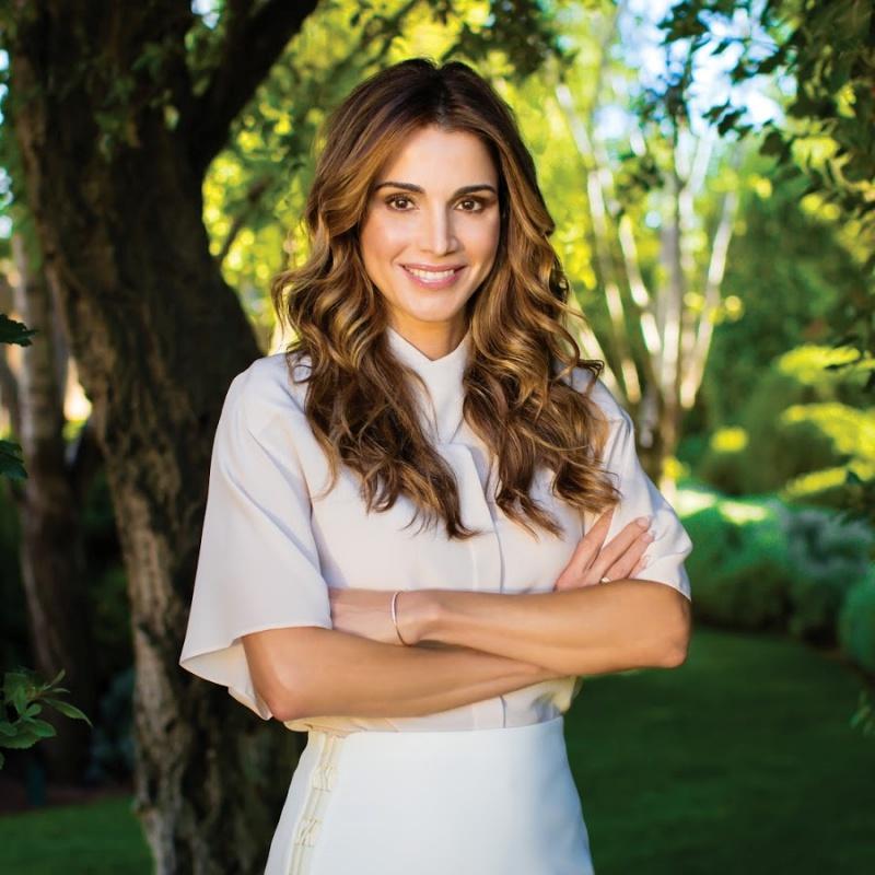 Hoàng hậu Rania Al-Abdullah - một biểu tượng sắc đẹp đầy lòng nhân ái của Jordan.