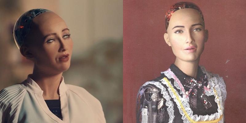 """Với khuôn mặt mĩ miều phỏng theo nhan sắc của nữ minh tinh Audrey Hepburn, Sophia gần như """"cân"""" mọi góc chụp."""