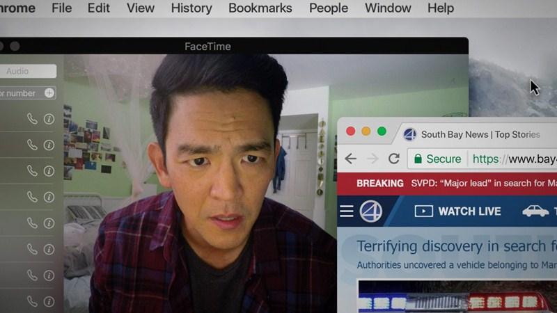 Nét mặt thần thái của John Cho trong Searching