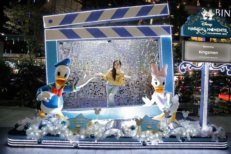 Hay người bạn vịt Donald thân thuộc như cô bạn Băng Di trong chuyến đi vừa rồi.