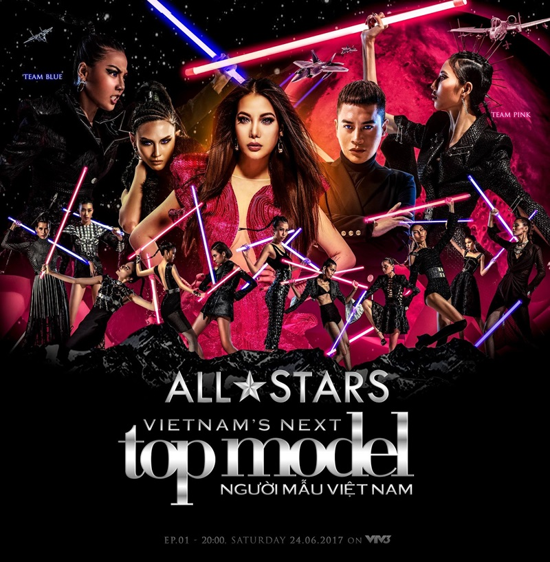 Thành công của mùa giải All Stars còn được kể đến dàn thí sinh mạnh trở lại từ các mùa trước.