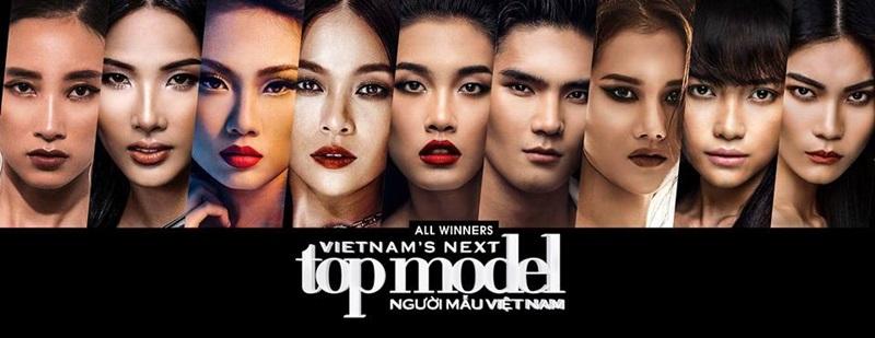 9 quán quân Vietnam's Next Top Model từ 2010-2017.