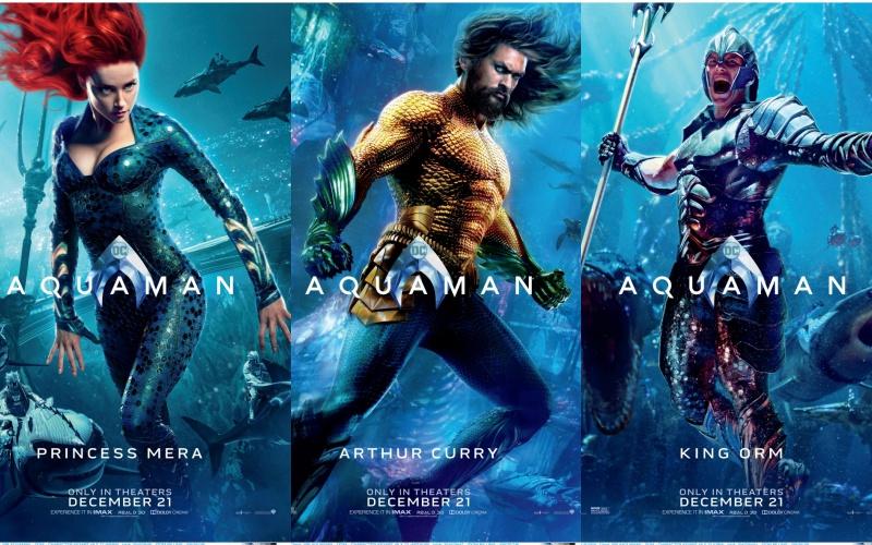 """Dàn diễn viên tài sắc vẹn toàn trong siêu phẩm đại dương """"Aquaman"""""""