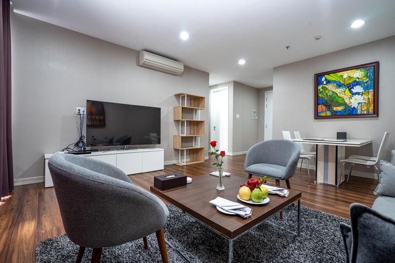 Căn phòng cao cấp Premier Suites