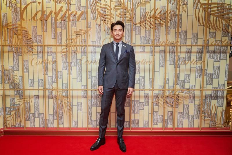 Bi Rain lịch lãm với suit xuất hiện tại sự kiện của Cartier.