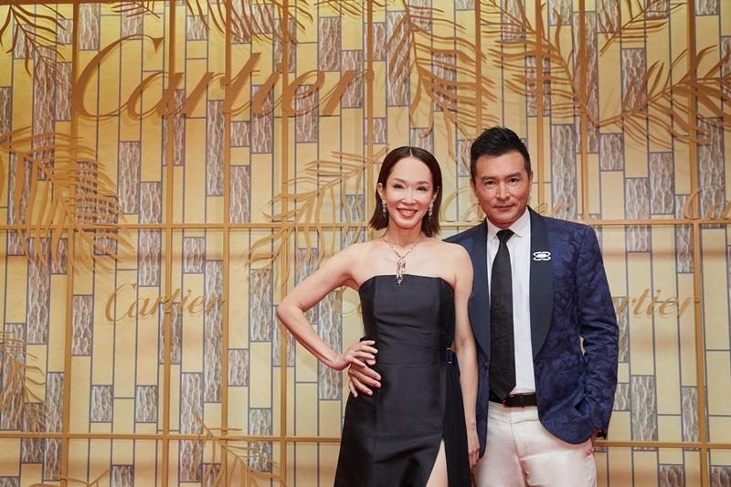 Hai vợ chồng Phạm Văn Phương và Lý Minh Thuận cũng có mặt tại sự kiện. Hai người thường xuyên có mặt tại các sự kiện của Cartier.