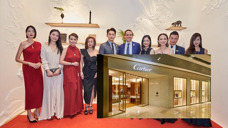 Bi Rain bảnh bao xuất hiện trong sự kiện khai trương cửa hàng Cartier tại Singapore