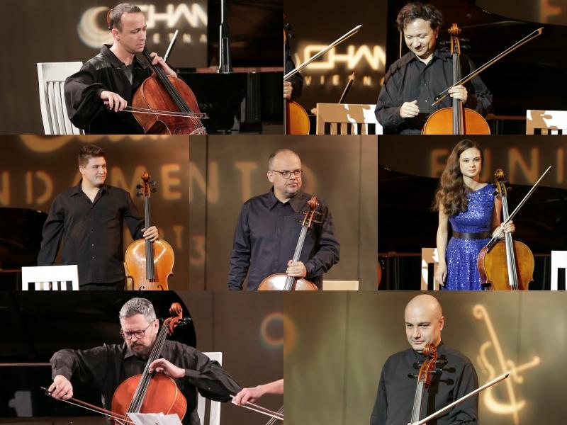Những nghệ sĩ tài năng trong Cello Fundamento 3.