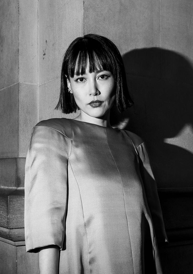 Nữ diễn viên Nhật Bản Rinko Kikuchi sang trọng và thu hút mọi ánh nhìn với mái tóc bob.
