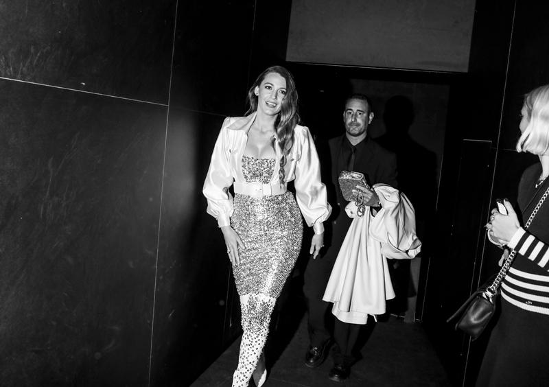 Nữ diễn viên Blake Lively gần đây xuất hiện thường xuyên trong các sự kiện thời trang của những thương hiệu lớn.