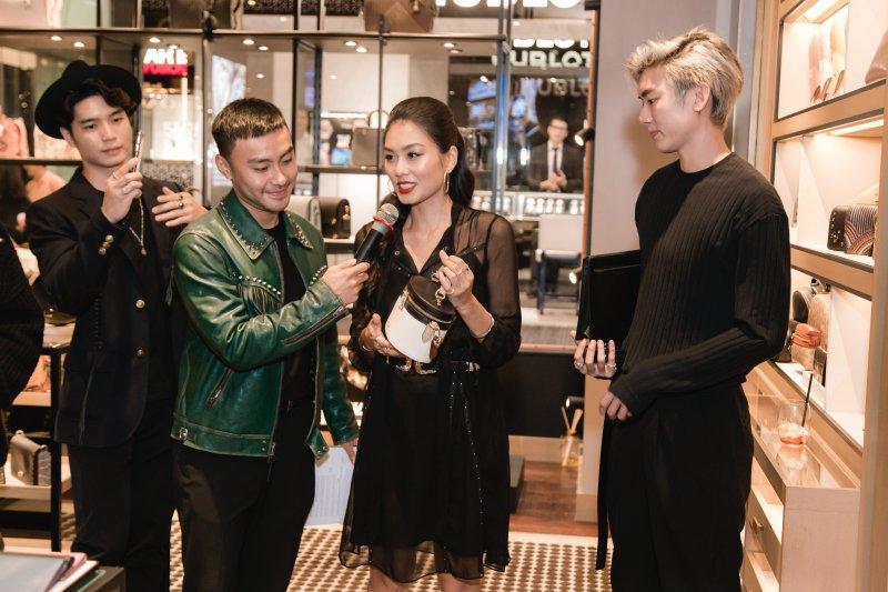 VJ Dustin Phúc Nguyễn dẫn dắt chương trình.