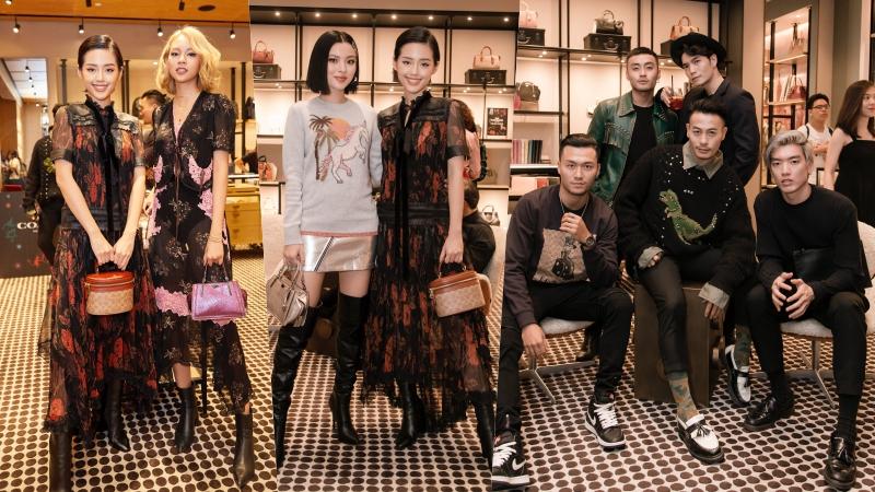 Phí Phương Anh, Khánh Linh và Tú Hảo cùng dàn fashionista Việt khuấy động sự kiện của Coach