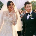 """Những con số """"khủng"""" từ váy cưới của Hoa hậu Priyanka Chopra"""
