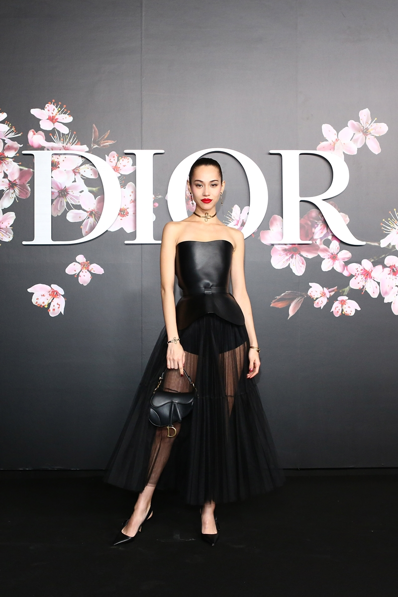 Bông hồng lai Mỹ-Nhật Kiko Mizuhara rạng ngời trong thiết kế từ BST Cruise 2019 của Dior.