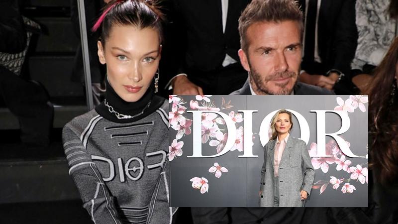 Kate Moss, Bella Hadid mặc đồ nam ngồi hàng ghế đầu show Dior Homme