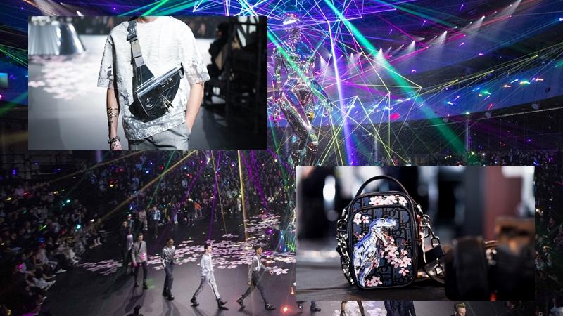 Dior Homme Chớm Thu 2019: Thế giới viễn tưởng về tương lai; ngay cả robot cũng phải lãng mạn
