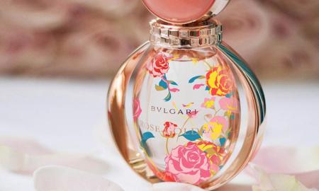Khu vườn rực rỡ trên chai nước hoa BVLgari Rose Goldea Limited Edition