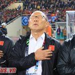 Thầy Park lặng lẽ khóc trong ngày vui lịch sử