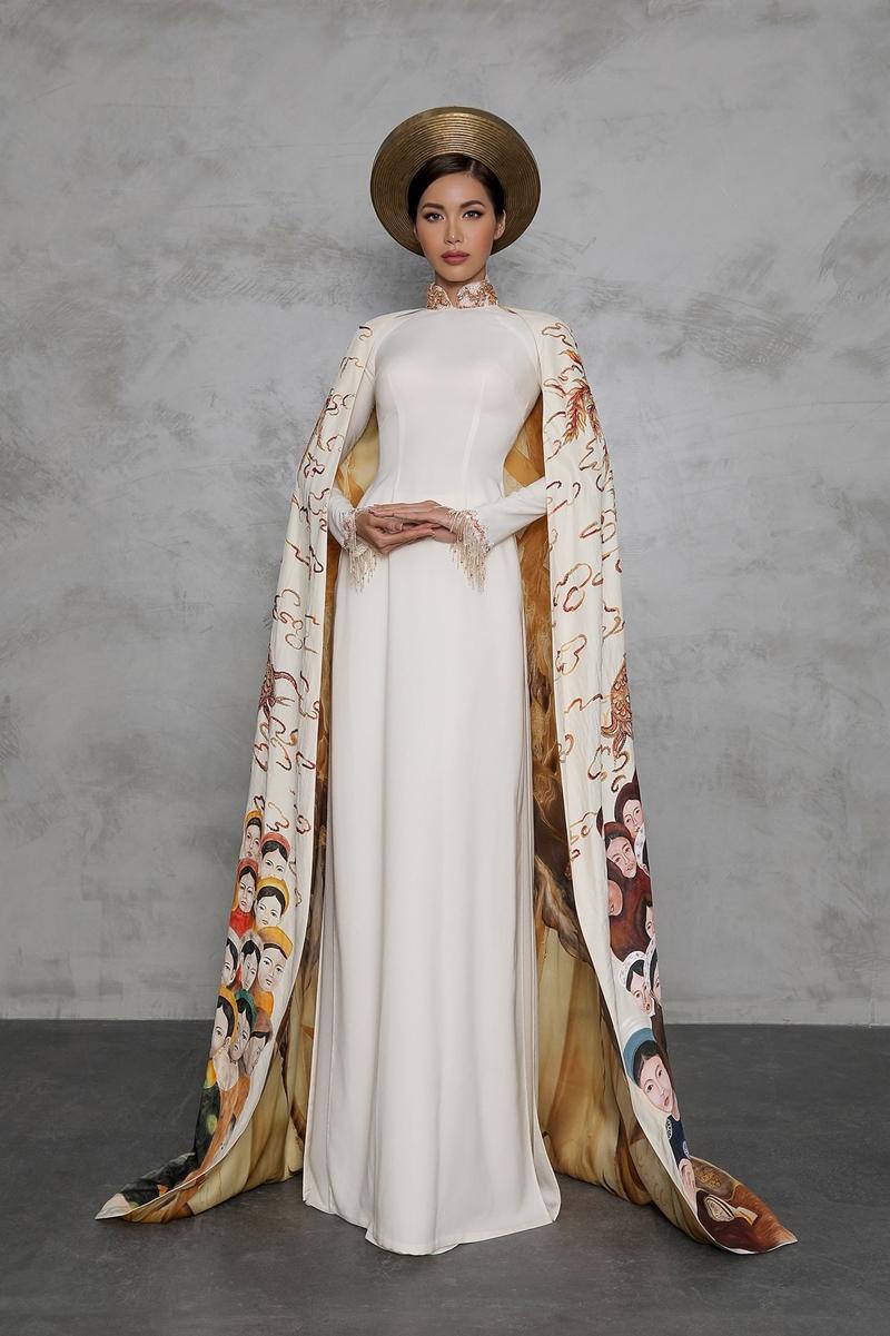 """Bộ trang phục mang tên """"Con rồng cháu tiên"""" top 10 trang phục dân tộc đẹp nhất."""