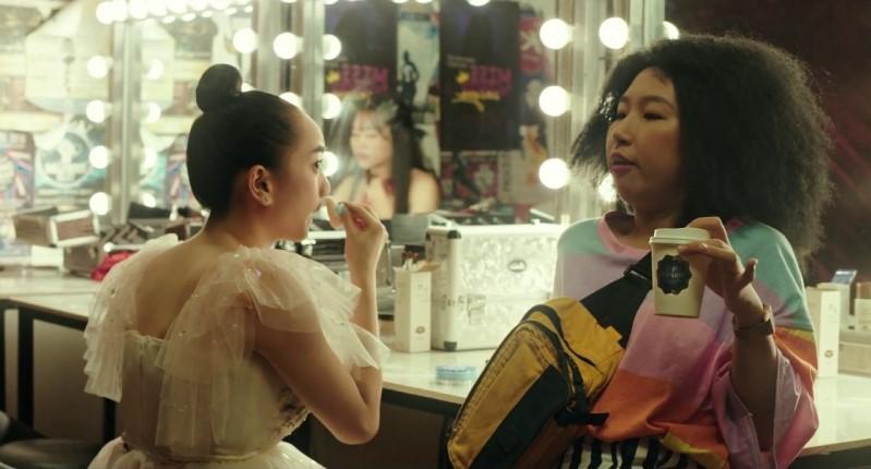 """Có thể nói, màn trình diễn ba lê kết hợp kung fu của Kaity Nguyễn rất được mong chờ trong """"Hồn papa da con gái"""" bởi cô đã dành thời gian hơn 3 tháng liền học không ngừng nghỉ."""