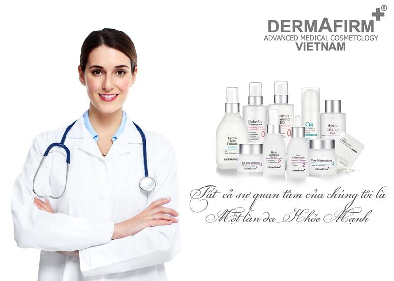 Dermafirm được đánh giá là dòng dược mỹ phẩm trị liệu tốt nhất cho làn da Á đông.