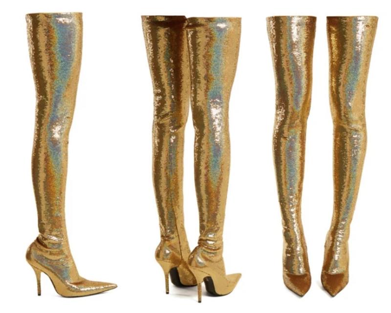 Những đôi boots cao ngang đùi của NTK Demna Gvasalia mang đến cho Balenciaga đã liên tục tạo nên những hiện tượng thời trang với sức ảnh hưởng lan rộng.