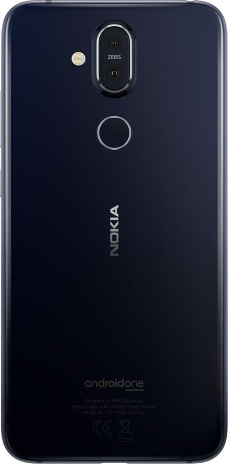 Nokia 8.1 được chú trọng nâng cao chức năng chụp hình với camera kép 12MP + 13MP cùng ống kính ZEISS đặc trưng.