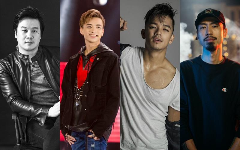 Thanh Bui, Soobin Hoàng Sơn, Trung Hiếu, Đen Vâu sẽ là 4 gương mặt nam nghệ sĩ khiến chương trình càng thêm bùng nổ.