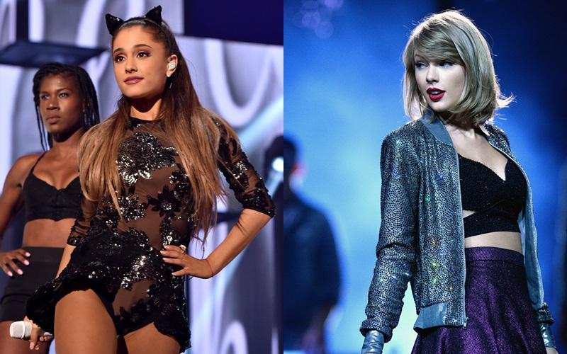 Ngai vàng của nữ giới trong năm 2018 thuộc về Ariana Grande.