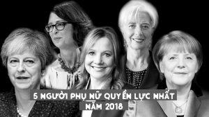 Những người phụ nữ quyền lực nhất thế giới 2018