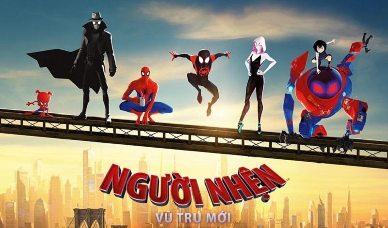 """Gặp gỡ """"đại gia đình Nhện"""" trong bom tấn hoạt hình """"Spider-Man: Into the Spider-Verse"""""""