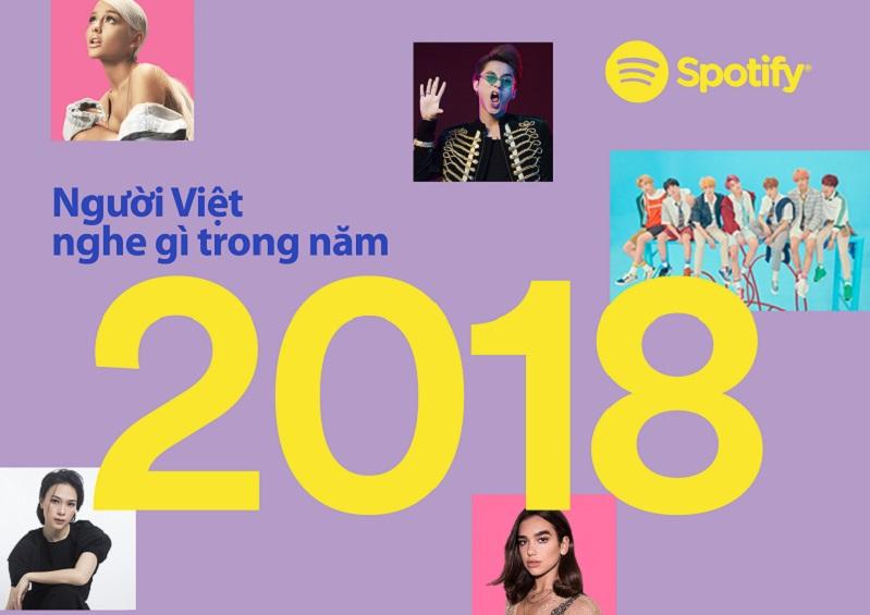 Mỹ Tâm củng cố vị thế nghệ sỹ Việt được yêu thích nhất trên Spotify trong năm 2018