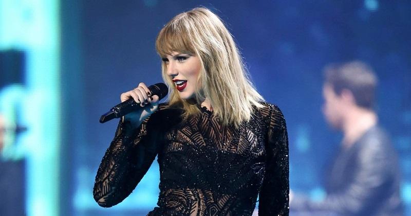 Taylor Swift đang là biểu tượng pop nổi tiếng nhất hiện nay.