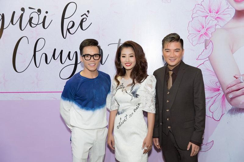 NTK Huy Trần cũng đến tham dự minishow của Thu Hằng.