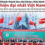 [Infographics] Tòa nhà khám chữa bệnh hiện đại nhất Việt Nam