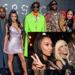 """Kim Kardashian West và Kanye West """"quậy tưng"""" thảm đỏ show diễn của Versace"""