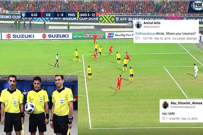 CĐV Malaysia vẫn cay cú tố bàn thắng của Anh Đức không hợp lệ